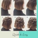 Quick & Easy Hairstyle Cute Hairstyles For Short Hair, Short Cute Quick Hairstyles For Short Hair