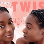 Quick & Easy Protective Style For Short Natural Hair 9 Strand Twist Style Protective Styles For Short Natural Hair