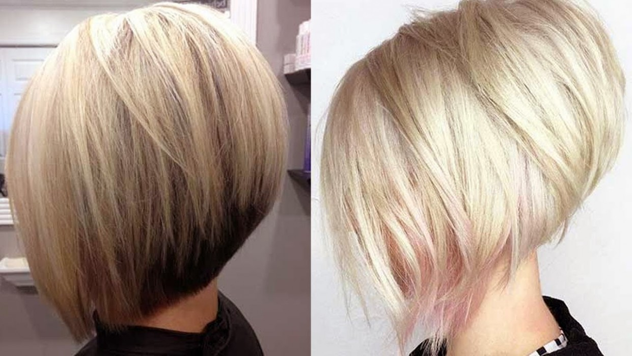 Really Trending Short Stacked Bob Haircut Ideas Stacked A Line Haircut