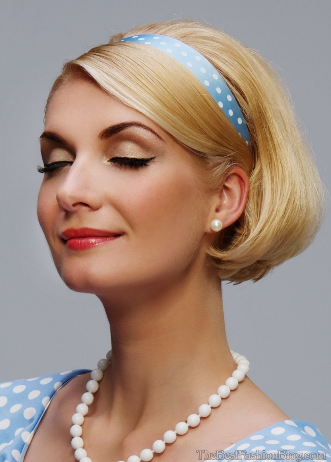 Retro Hairstyles For Women Hairstylo Easy Vintage Hairstyles Retro Hairstyle For Short Hair