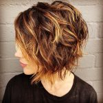 Rocking The Style: Top 11 Short Shag Haircuts For 11 In 11 Curly Shaggy Bob