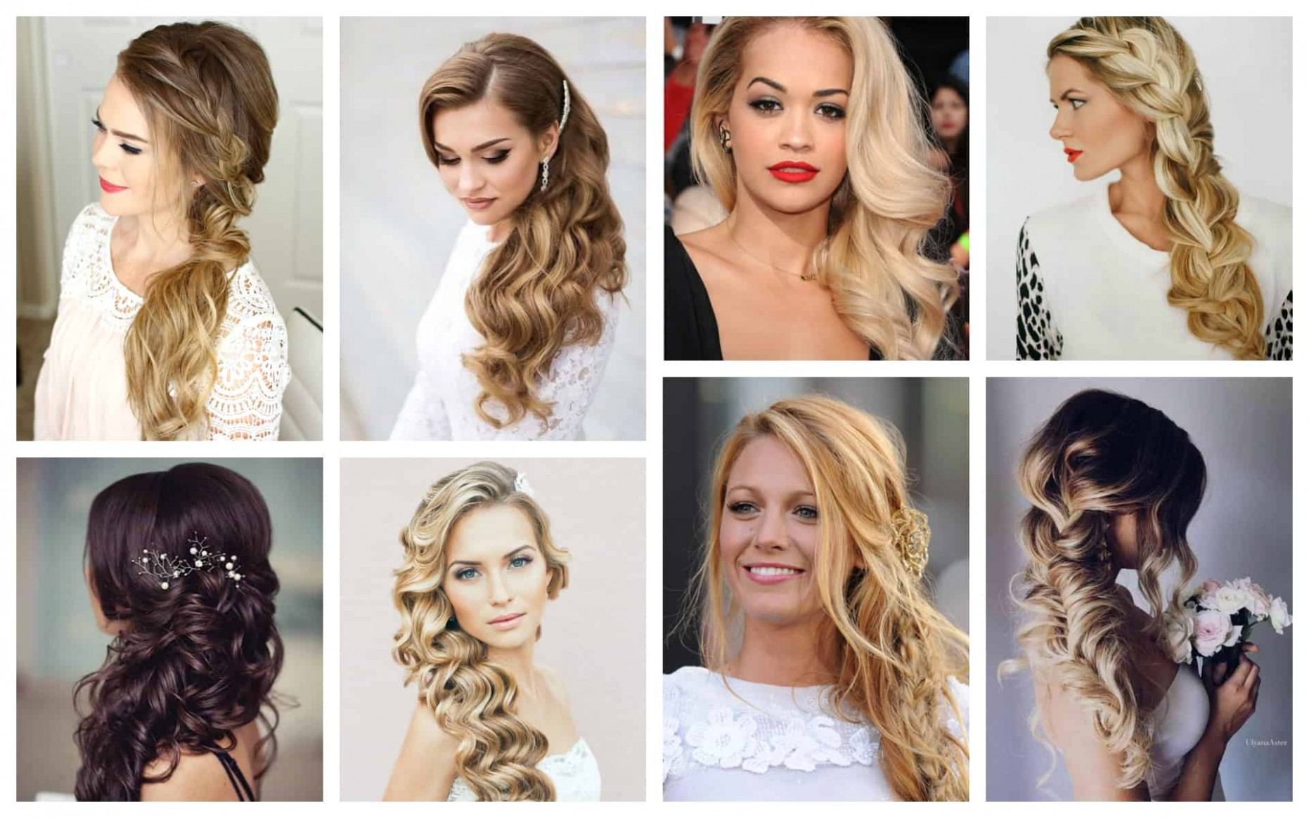 Romantic Side Swept Hairstyles That Will Put All Eyes On You Side Swept Hairstyles For Long Hair