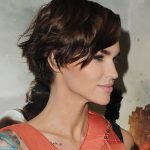 Ruby Rose With A Pixie Haircut 10 Celebrity Pixie Haircuts That Ruby Rose Pixie Cut