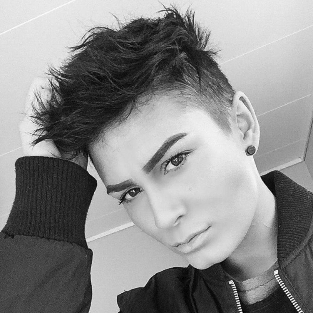 Short Androgynous Haircuts For Round Faces 10 – Short Hair Models Androgynous Haircuts For Round Faces