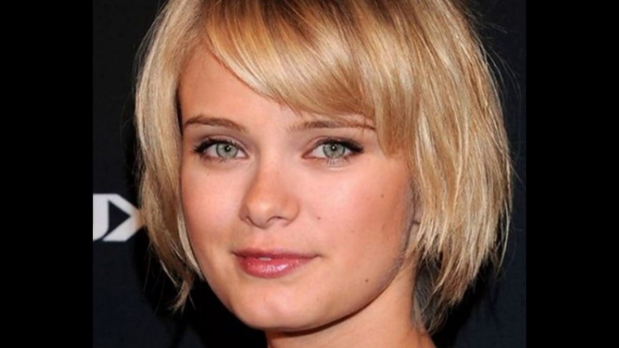 Short Bob Hairstyle for Square Face