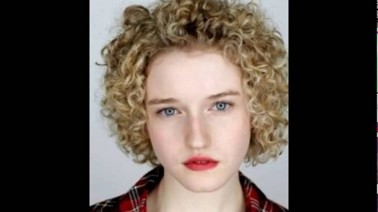 Short Curly Hairstyles For Round Faces । Curly Hairstyles For Short Hair Curly Hair For Round Face