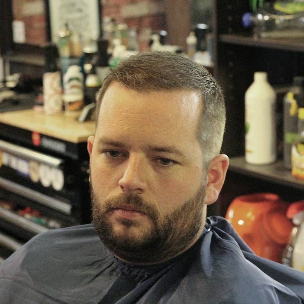 Short Haircut for balding man  Funky hairstyles, Haircuts for