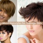 Short Hairstyles For Teenage Girls Hairstyle For Women Short Haircuts For Teenage Girl