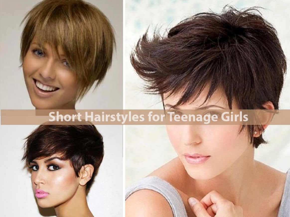 Short Hairstyles for Teenage Girls - Hairstyle For Women