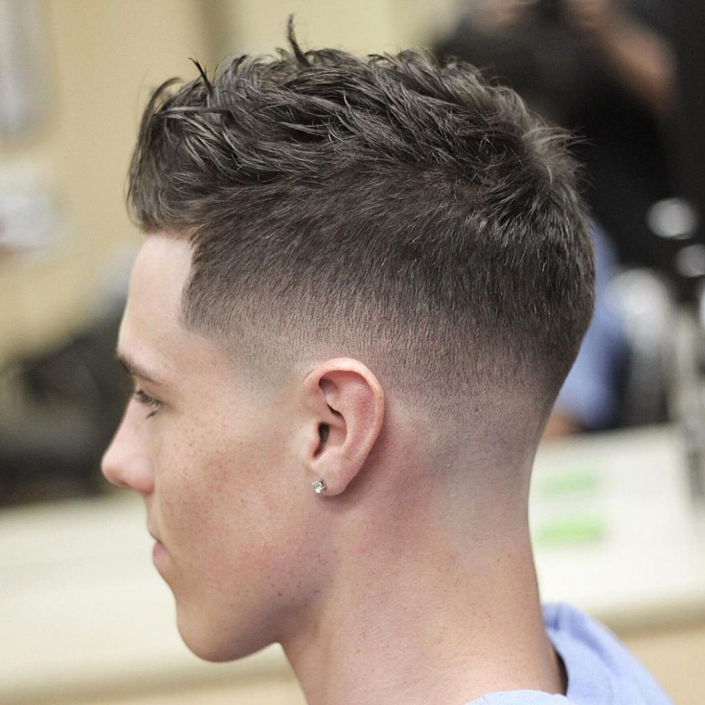 Short Hairstyles For Thick Hair New Mens Very Short Hairstyles For Short Haircuts For Men With Thick Hair
