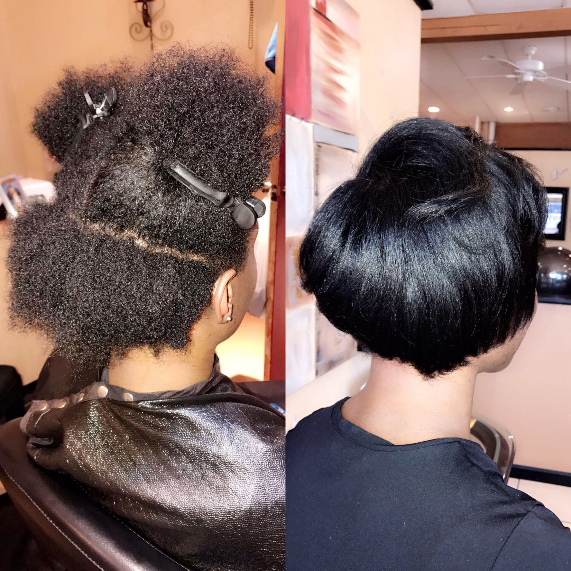 Short Natural Hair Blowout Trim Stylist: MarkeishaEshell Toledo Blowout Hairstyles For Short Natural Hair