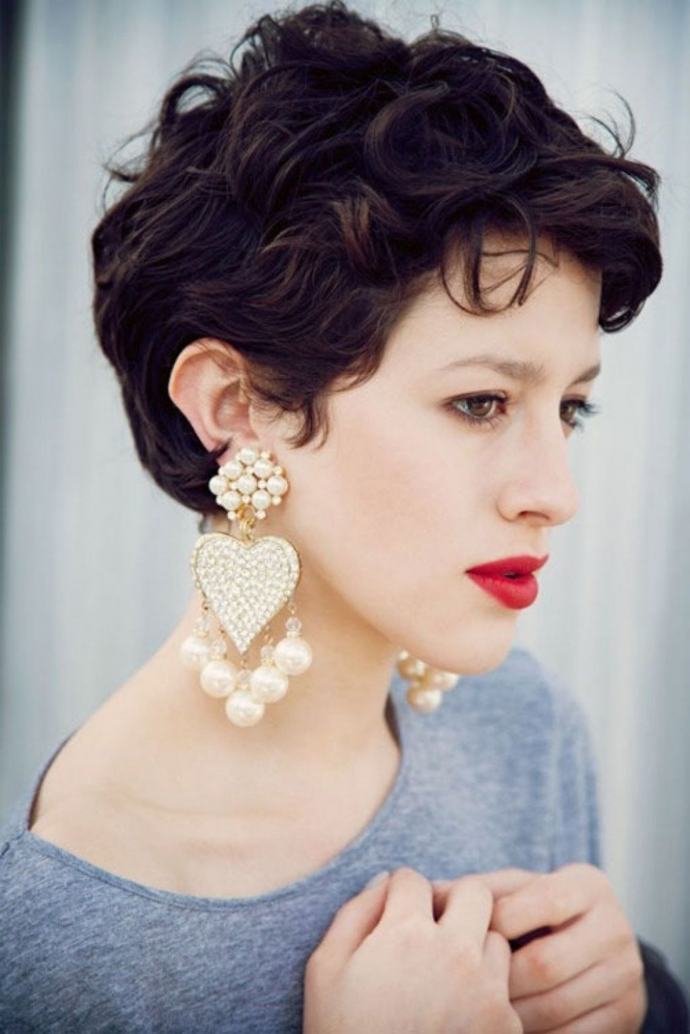 Short Pixie Haircuts For Thick Hair Curly Pixie Hairstyles Pixie Cut For Thick Wavy Hair