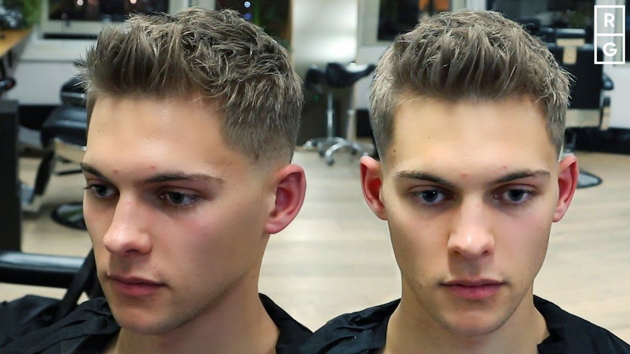 Short Textured Quiff Easy To Style Mens Haircut Short Quiff