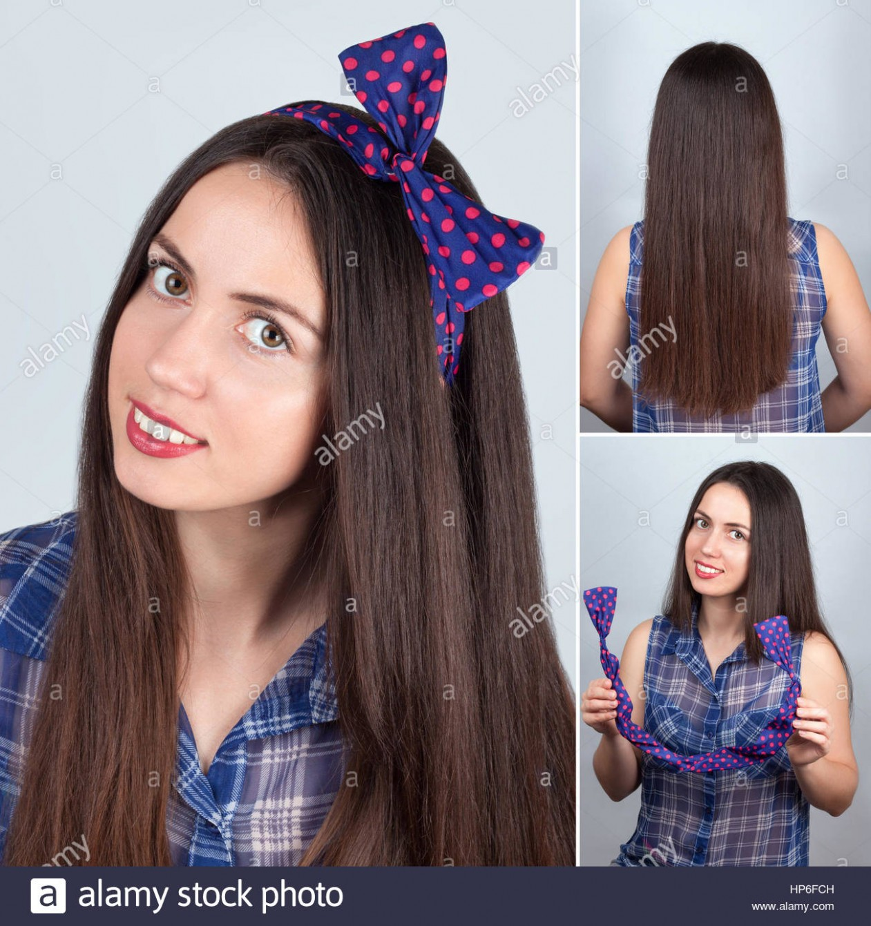 simple hairstyle for long hair tutorial. Hairstyle for long hair