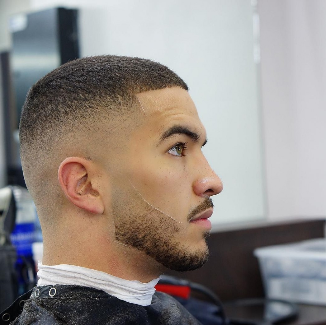 Simple Short Hair With Bald Fade Hairstyles Best Fade Haircuts Short Fade Haircut