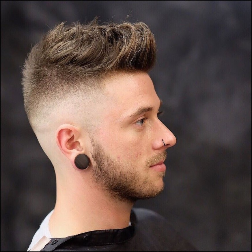 Skin Fade Haircut Long On top  Cool hairstyles for men, Long hair