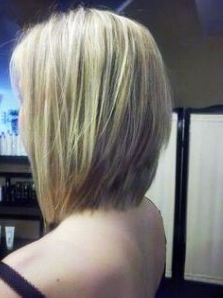 Stacked Hairstyles : Simple Hairstyle Ideas For Women And Man Long Stacked Bob