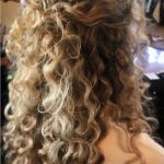 Stunning Wedding Hairstyles For Naturally Curly Hair Curly Half Up Curly Hair