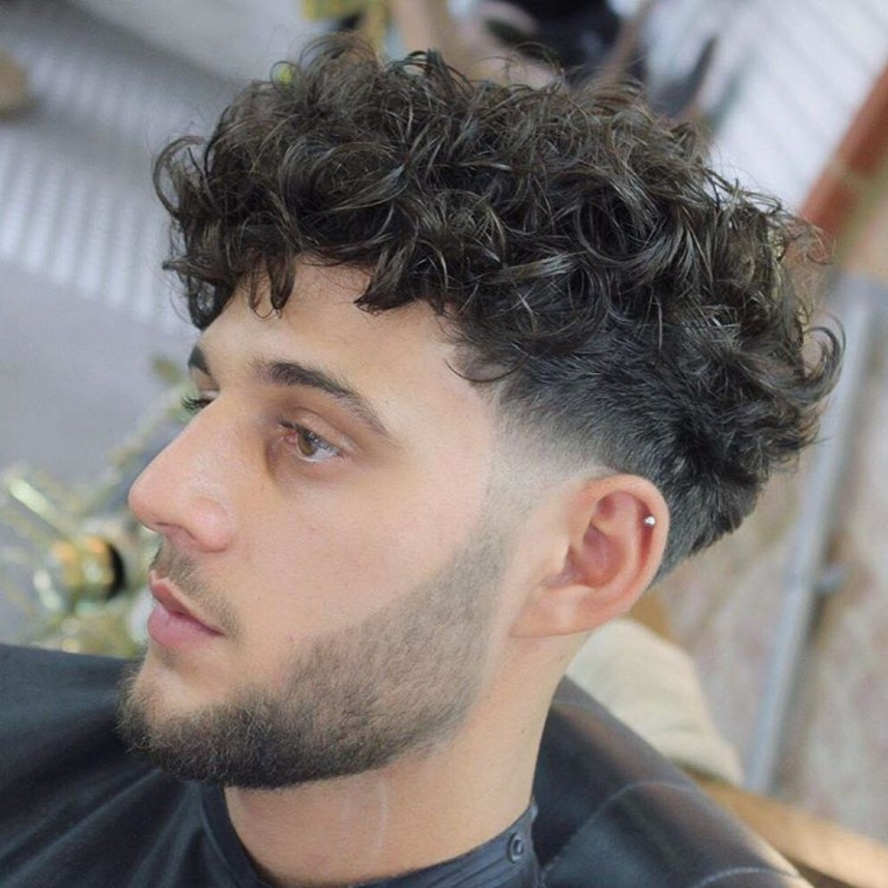Stylish Fringe Haircuts For Curly Hair Haircuts For Curly Hair Curly Fringe Men
