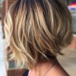Stylish Layered Bob Hairstyles #bobhairstyles #texturedBob In 10 Hairstyles For Chin Length Hair