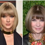 Taylor Swift Replicates Anna Wintour's Hairstyle And The Latter Anna Wintour Haircut