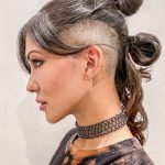 The 8 Coolest Shaved Hairstyles For Women Hair Adviser Long Hair Short Sides Female