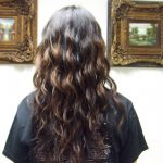 The Beauty Owl: Feathers: Haircut!!!!! Before And After Wave Perm Long Hair