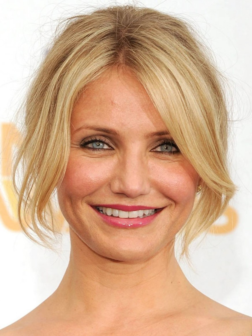 The Best (and Worst) Bangs For Round Face Shapes The Skincare Edit Side Bangs For Round Face