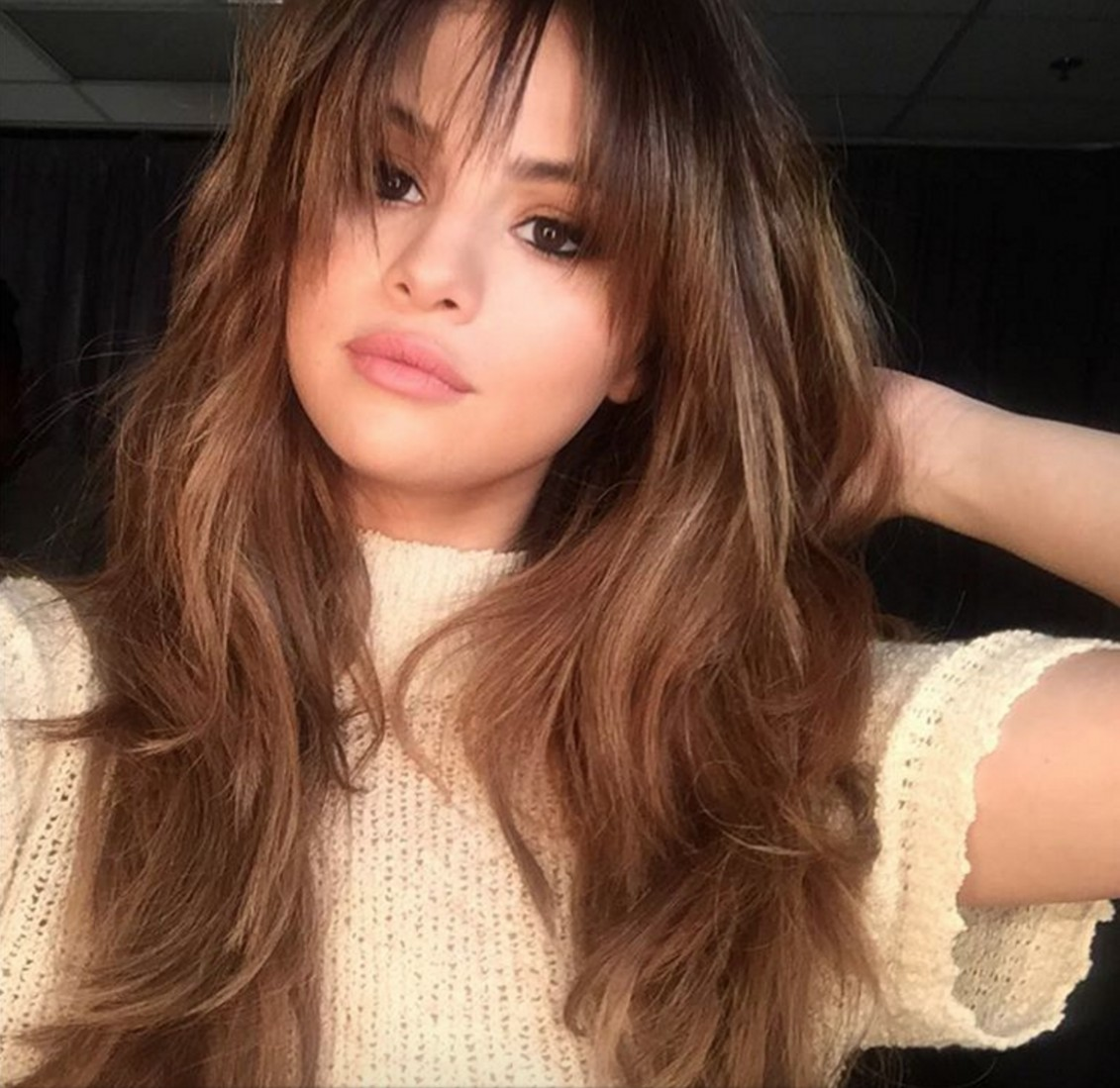 The Best Bangs For Your Face Shape Glamour Long Bangs For Round Face