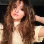The Best Bangs For Your Face Shape Glamour Types Of Bangs For Round Faces