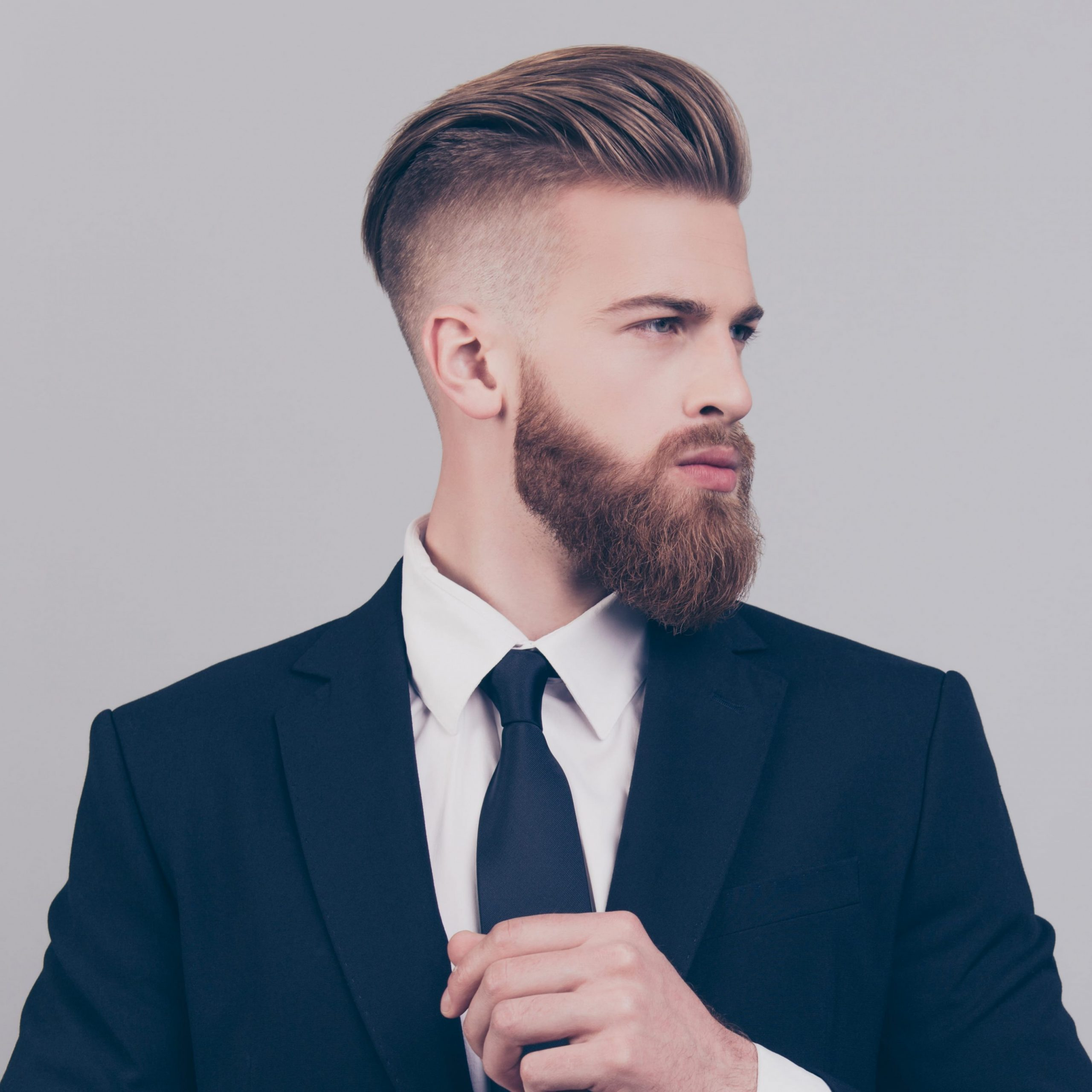 The Best Of Both Worlds: Short Sides & Long Top Haircut Inspiration Mens Haircuts Long On Top Shaved Sides