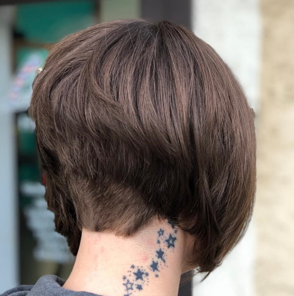 The Full Stack: 9 Hottest Stacked Bob Haircuts High Stacked Bob
