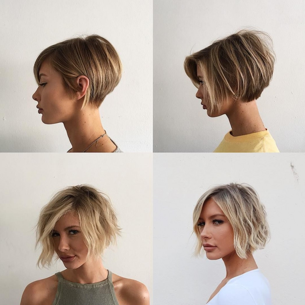 The Grow Out From Short To A Bob Is Not Hard W/ @adrianna Growing Out A Pixie Cut Into A Bob