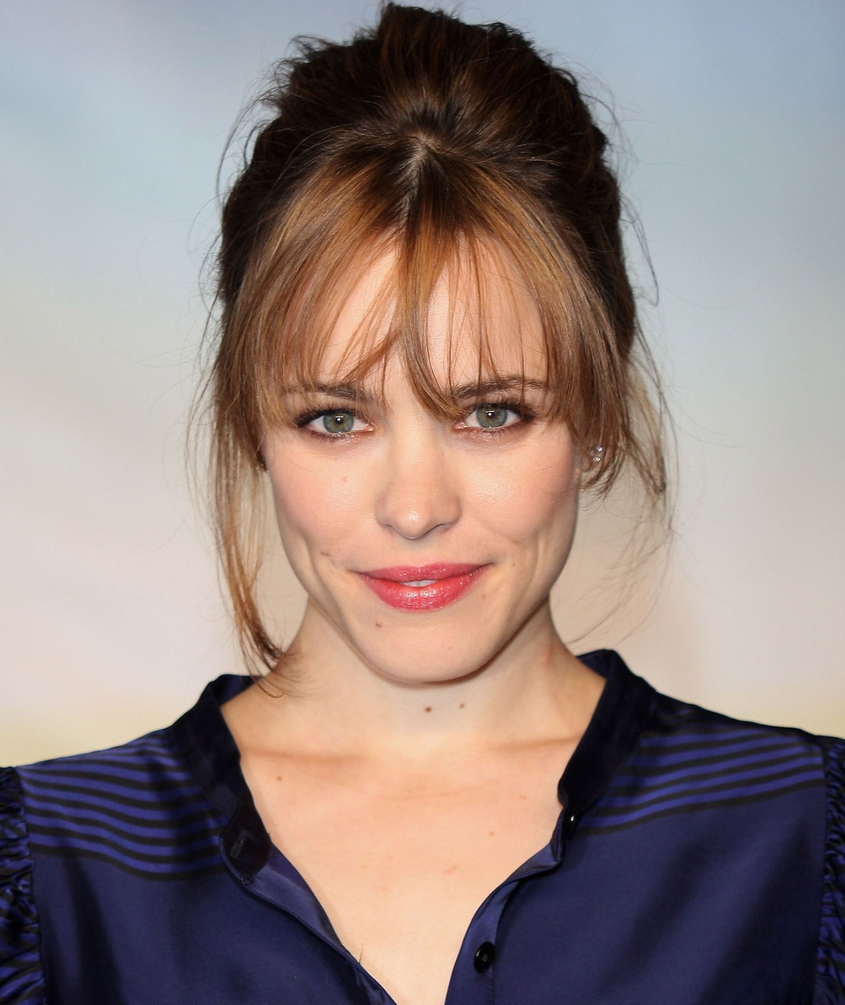The Most Flattering Haircuts For Large Foreheads, According To A Bangs For Round Face And Big Forehead