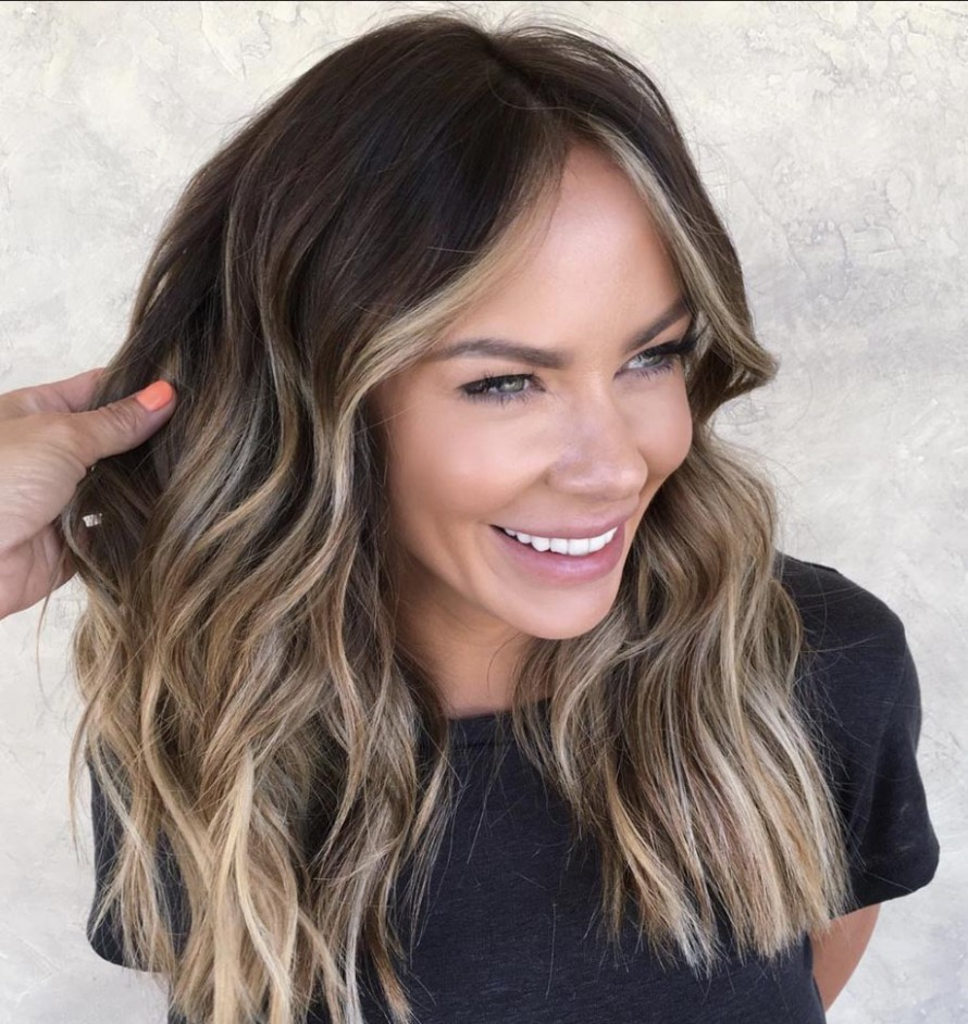 The Most Flattering Medium Length Brown Hairstyles To Try In 10 Medium Long Haircuts