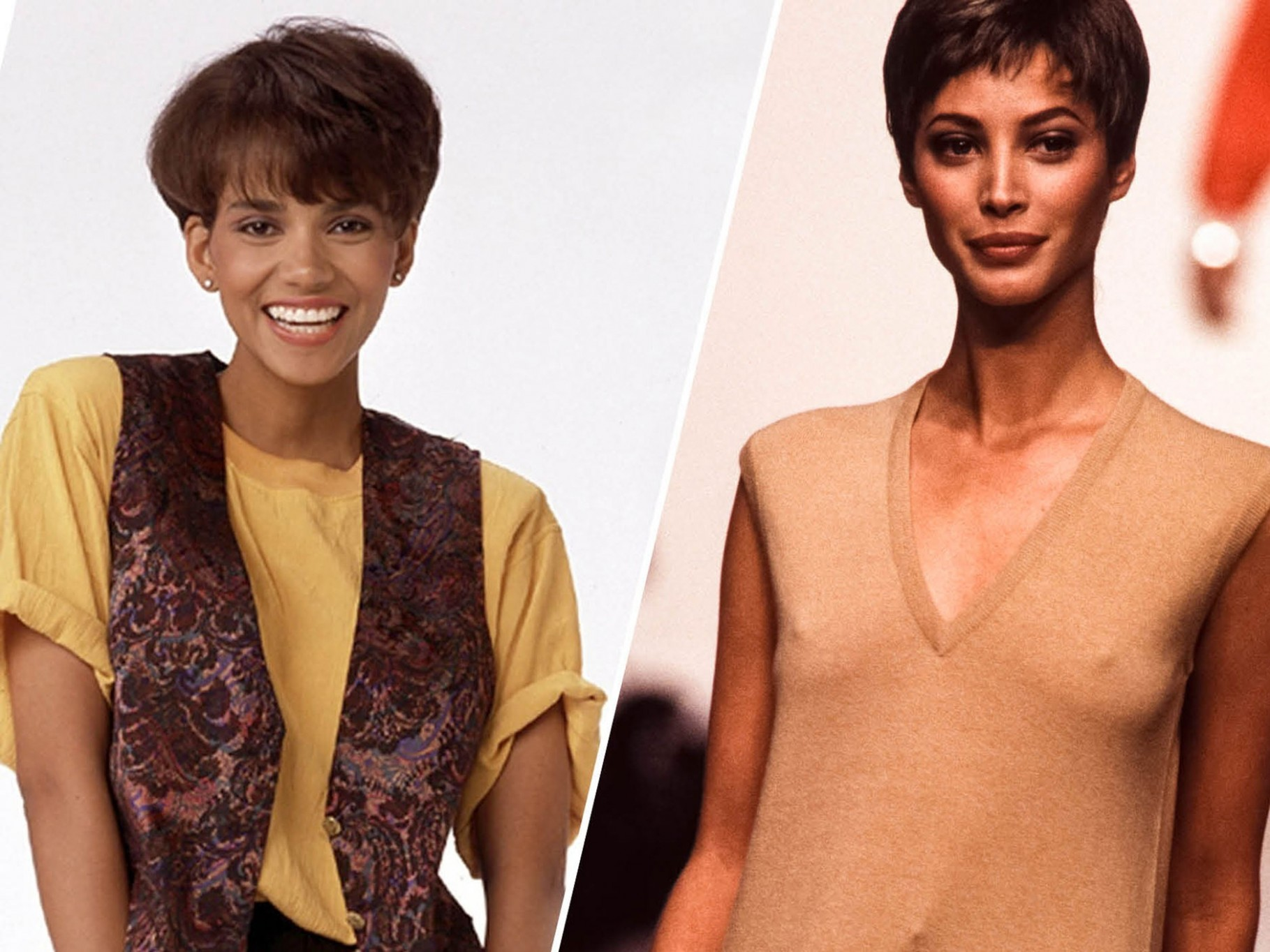 The Most Iconic Short Hairstyles Of The '9s — Photos Allure 90S Short Hairstyles