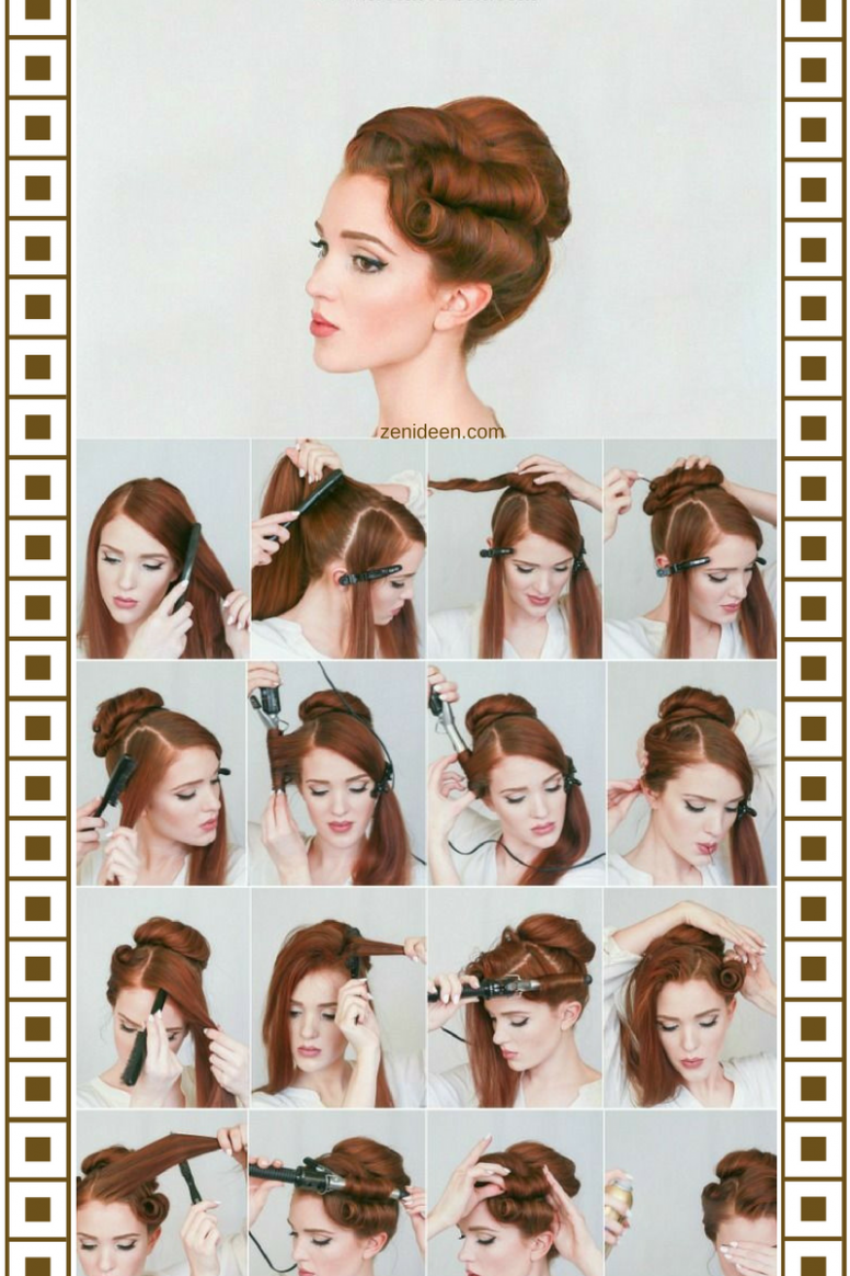 The Rockabilly Hairstyle By The Look Of The Modern Woman HeyStyles Rockabilly Hairstyles For Long Hair