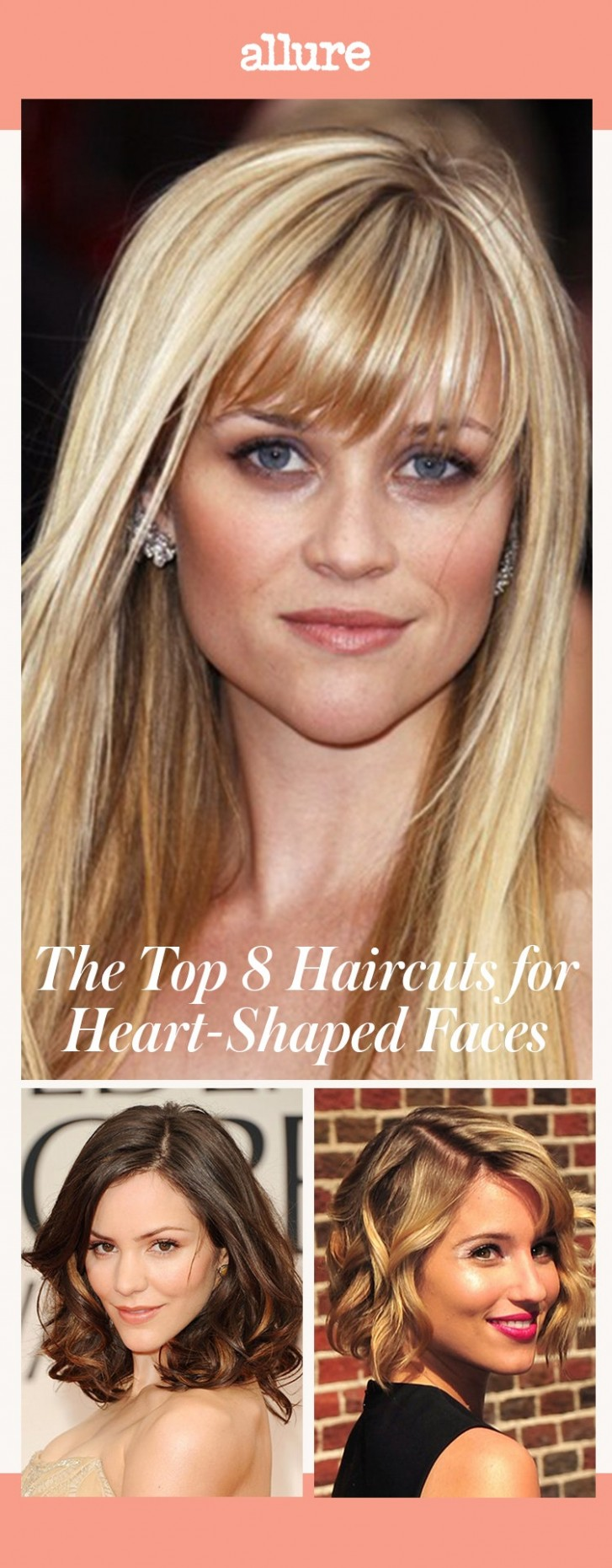 The Top 8 Haircuts For Heart Shaped Faces Allure Bob For Heart Shaped Face