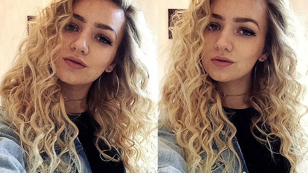 TIGHT CURLS HAIR TUTORIAL (With A Curling Wand) Really Tight Curls