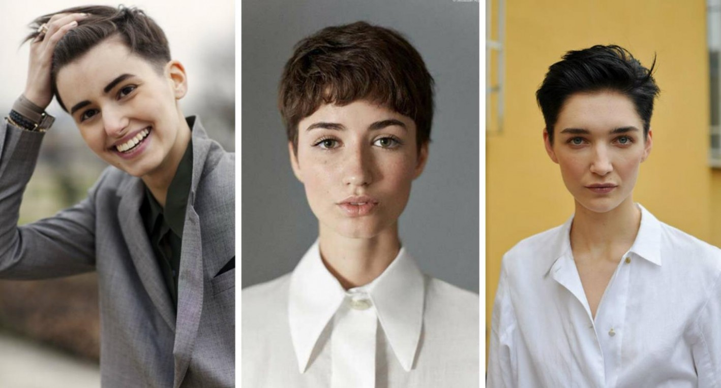 TOP 10 In Vogue Androgynous Haircuts For Powerful Women Yve Androgynous Haircuts For Round Faces