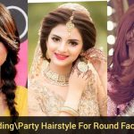 Top 9 BridalParty Hairstyle For Round Face Latest Top Trendy Round Face Hairstyle 9 Best Ideas Wedding Hair For Round Face