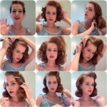 Tutorial: Pin Curls Part 8 – The Brush Out (Miss Hero Holliday 1940S Curls