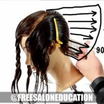 Understanding Elevation When Cutting A Stacked Bob Haircut Long Stacked Bob