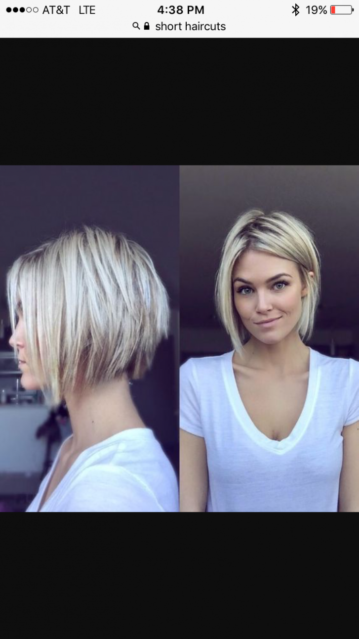 Uneven Bob Hairstyle Short Hair Styles, Thick Hair Styles, Hair Uneven Bob Haircut