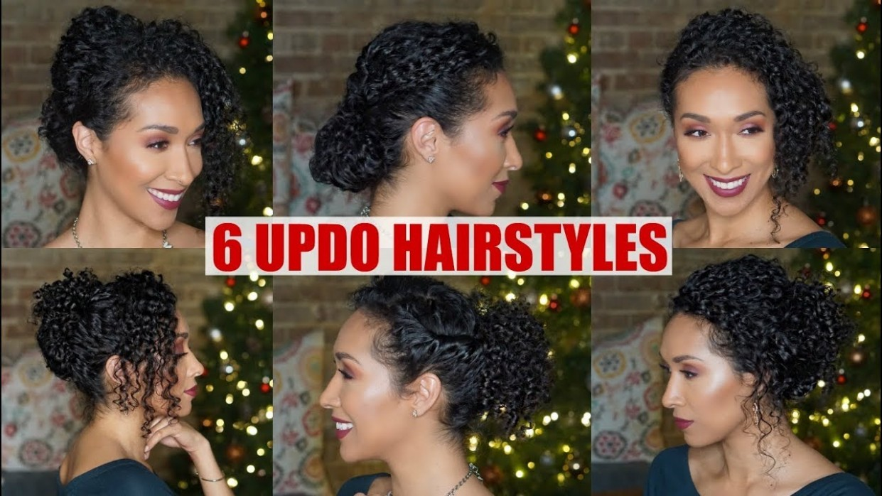 UPDO HAIRSTYLES FOR NATURALLY CURLY HAIR FORMAL Formal Hairstyles For Curly Hair