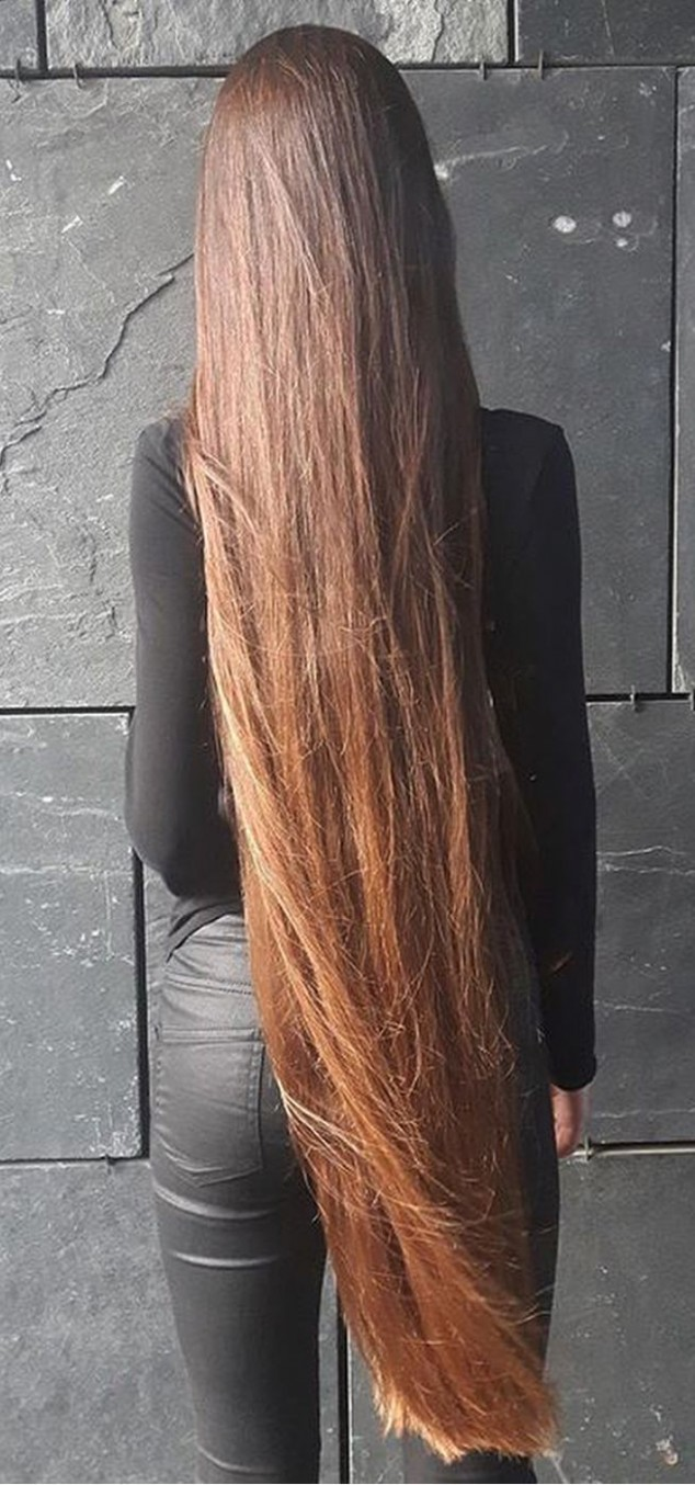 Very Long, Straight And G Simply Gorgeous