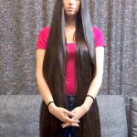 VIDEO Long, Silky, High Ponytail And Pigtails Long High Ponytail