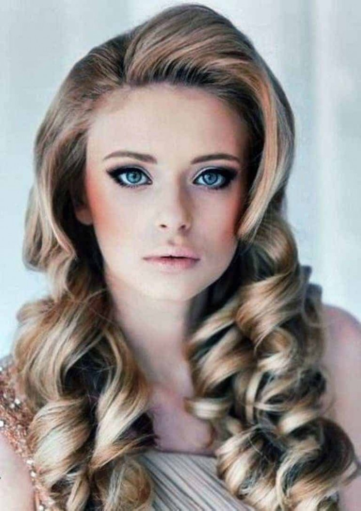 Vintage and curly hairstyles for Blonde – Women styles, hairstyles
