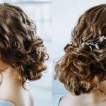 Wavy Curly Hair Tutorial Elegant Curly Bun Easy Updo Hairstyles For Everyday And Prom Low Curly Bun