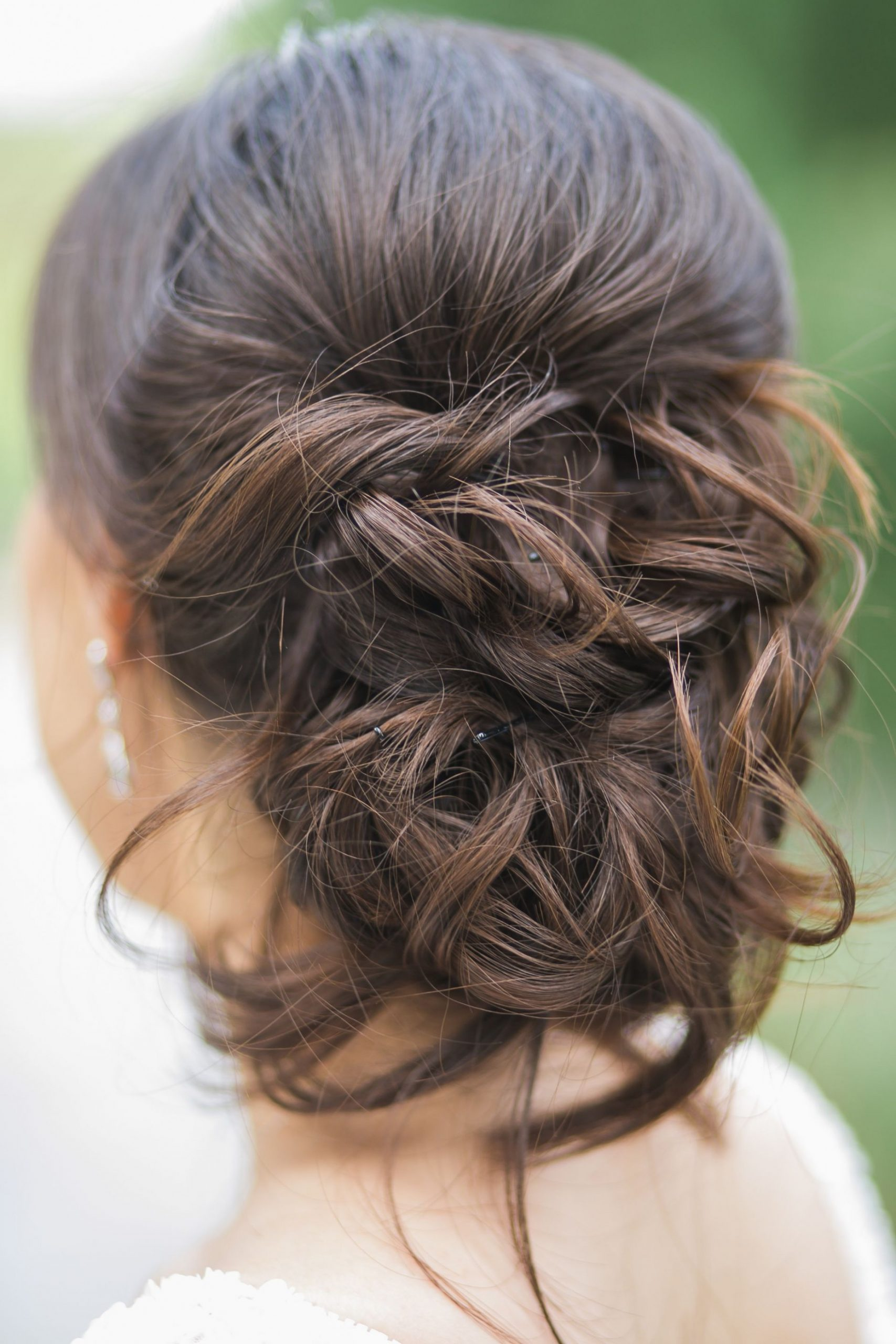 Wedding Hairstyle, Bridal Up Do, Pinned Up Curls, Repin To Your Pinned Up Curls